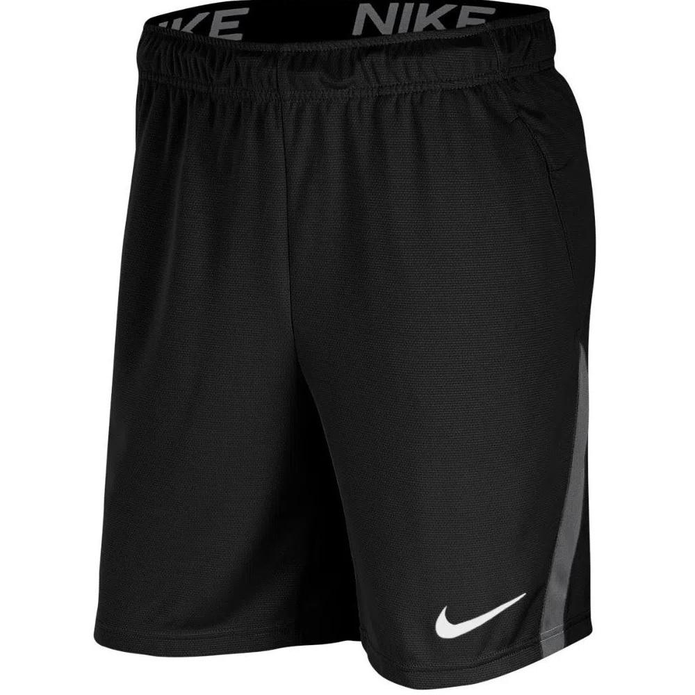 Bermuda Nike Dri-Fit 5.0 Masculina - preto/cinza