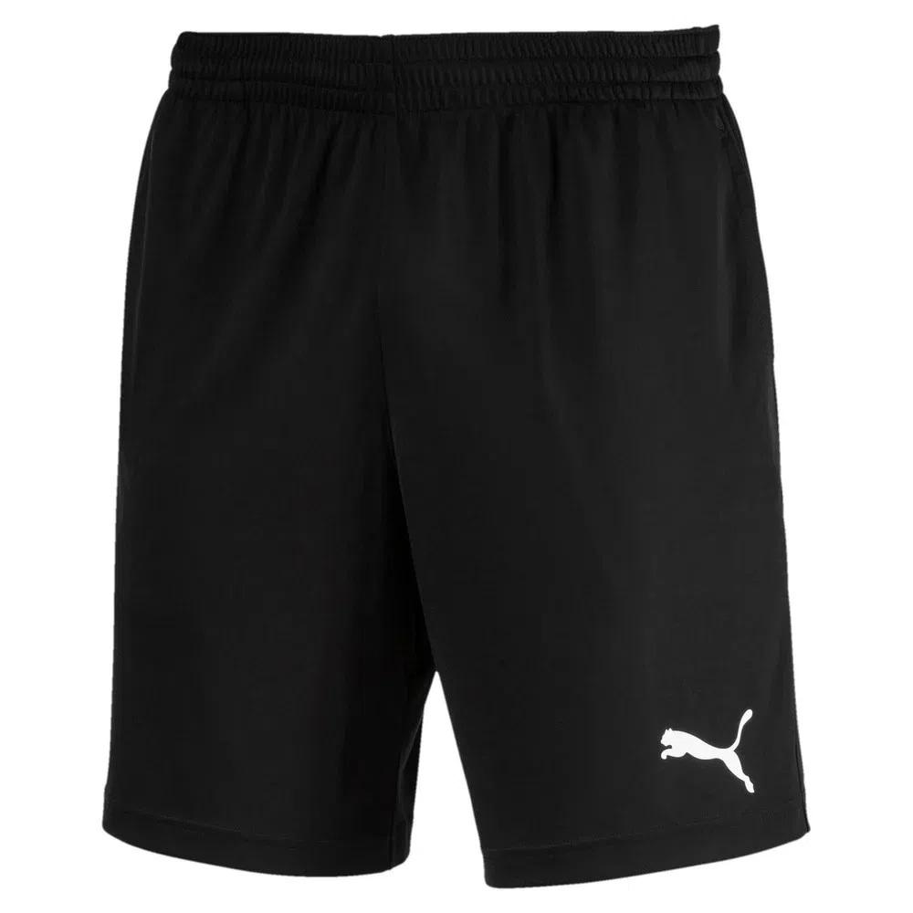 Bermuda Puma Active Interlock Shorts - Preto
