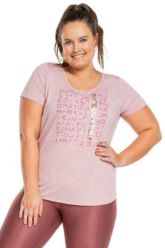 Blusa Icon Lux Plus Size - red blend - Live