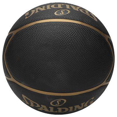 Bola Basquete Highlight Preto / Dourado Spalding T - 7