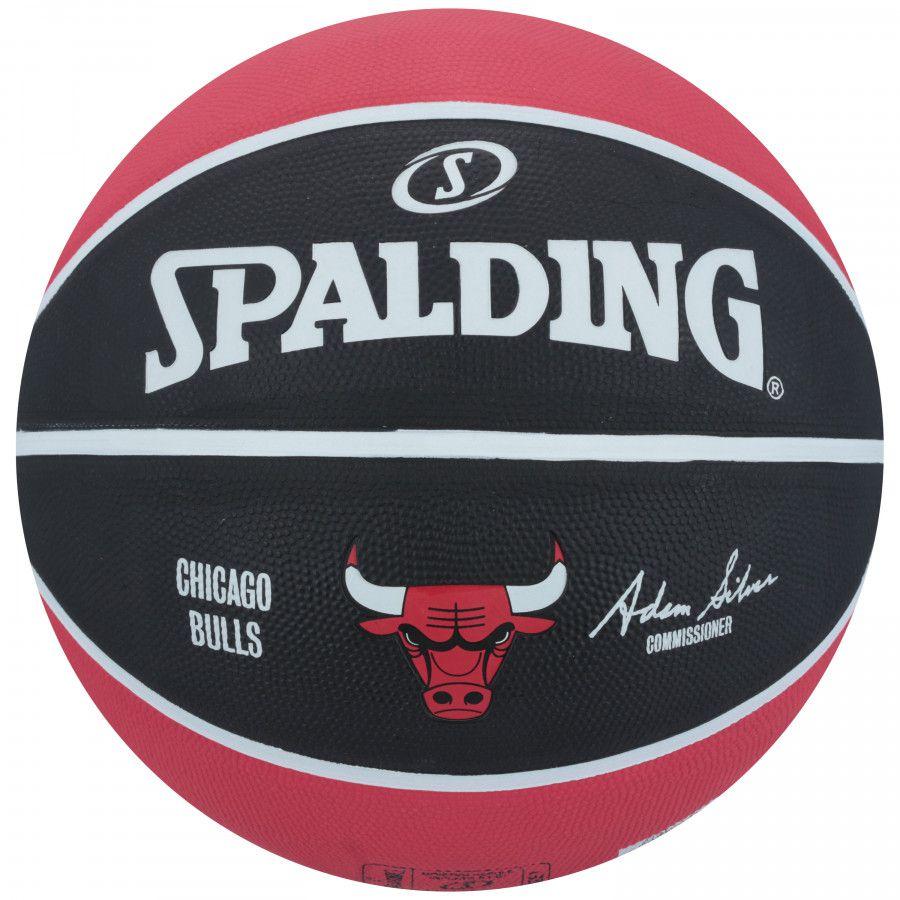 Bola de Basquete - Spalding NBA Chicago Bulls T - 7