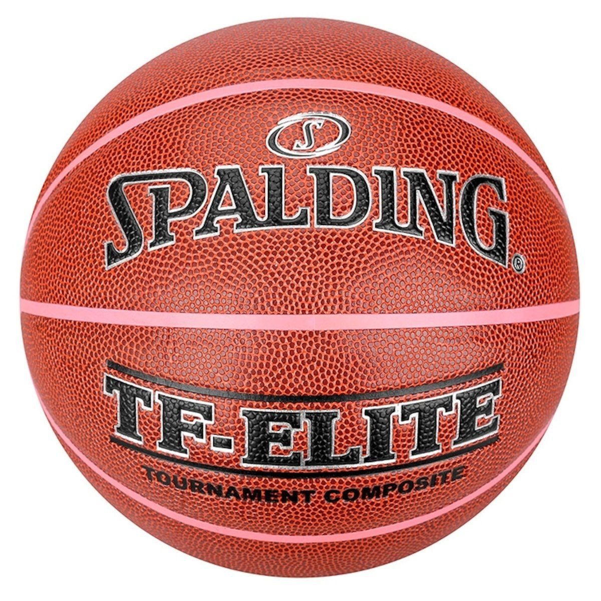 Bola Basquete Tf Elite Performance Pink Channels Spalding  T - 6