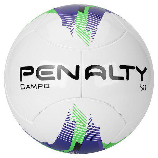 e4bd182aa9853 Bola Campo Penalty S11 R3 Ultra Fusion 5 - Branco e Verde - Titanes ...