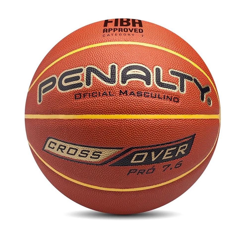 Bola de Basquete Penalty 7.6 Crossover VIII NBB Oficial