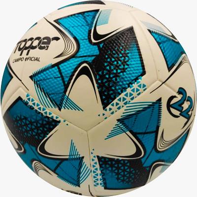 Bola de Futebol de Campo  22 - Topper - Branco/Azul