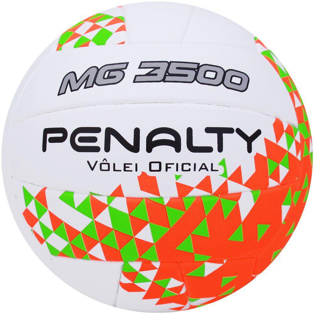 Bola de Volei Penalty Oficial Mg 3500 VIII - Branca - Titanes Esportes 0c1fa8dbe26b1