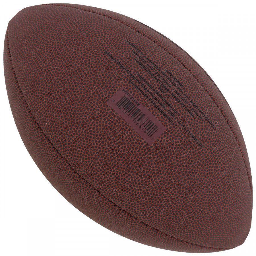 8286e68dc BOLA FUTEBOL AMERICANO WILSON NFL SUPER GRIP DR - Titanes Esportes