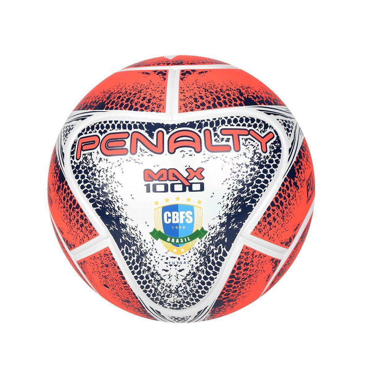 96e447e0136a2 Bola Futsal Penalty Max 1000 Termo Tec VIII - Titanes Esportes