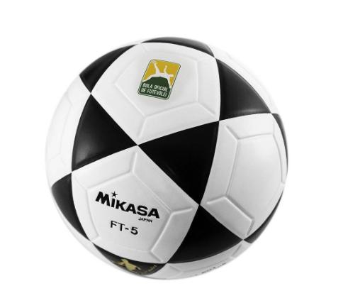 BOLA OFICIAL DE FUTEVÔLEI FT-5 PADRÃO FIFA MIKASA - BRANCA