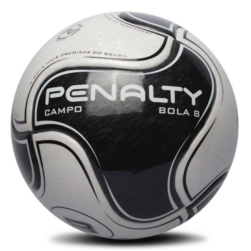 Bola Penalty Campo Bola 8 IX Termotec - Preto / Branco