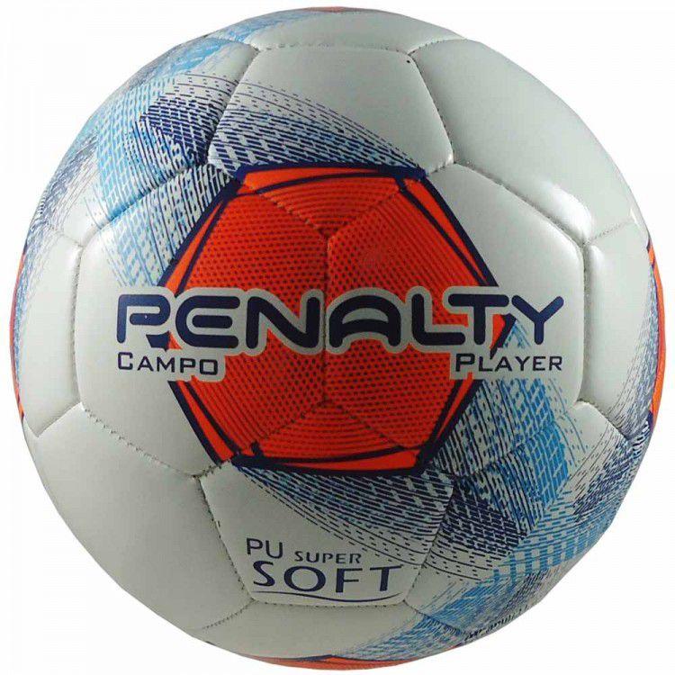 Bola Penalty Campo Player Super Soft - Branca - Titanes Esportes 6c6e72ab5481b