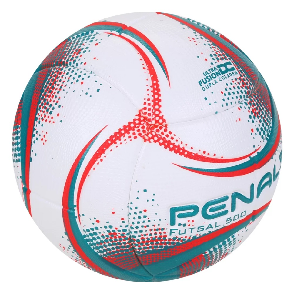 Bola Penalty de Futsal  Rx 500 XXI - Branco/Vermelho