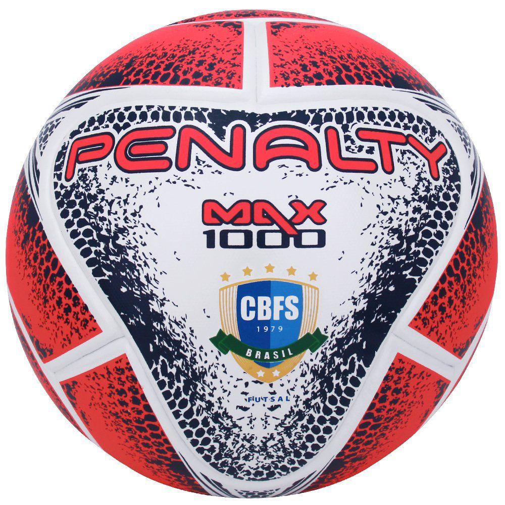7861718f0c Bola Penalty Futsal Max 1000 Cbfs Fifa Original - Titanes Esportes