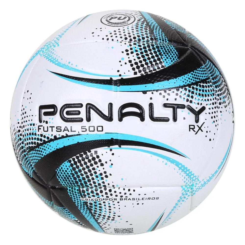 Bola Penalty Futsal RX 500 XXI - Azul