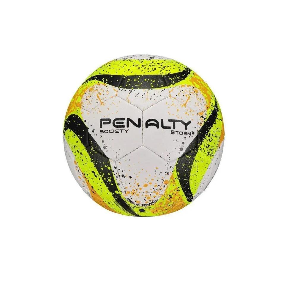 Bola Penalty Storm VII Society Branca e Amarela