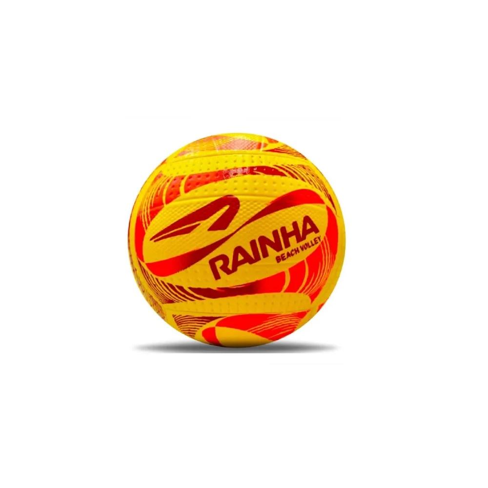 Bola Rainha Beach Volley - Amarelo/Vermelho