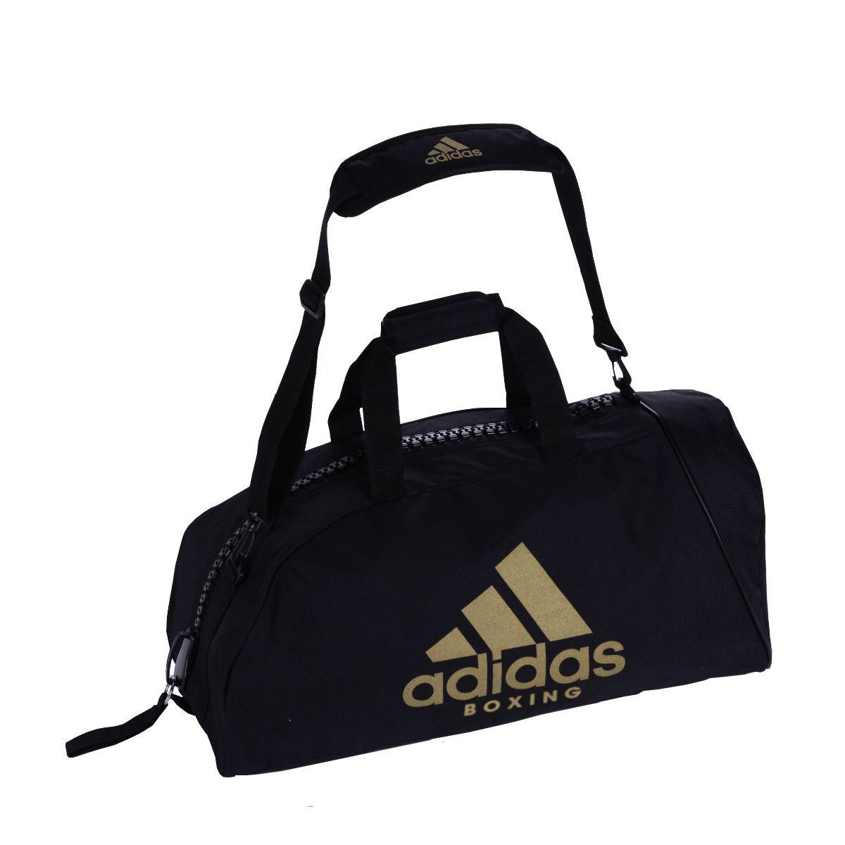 Bolsa Adidas Boxing Alça de Ombro Preto/Dourado 50L