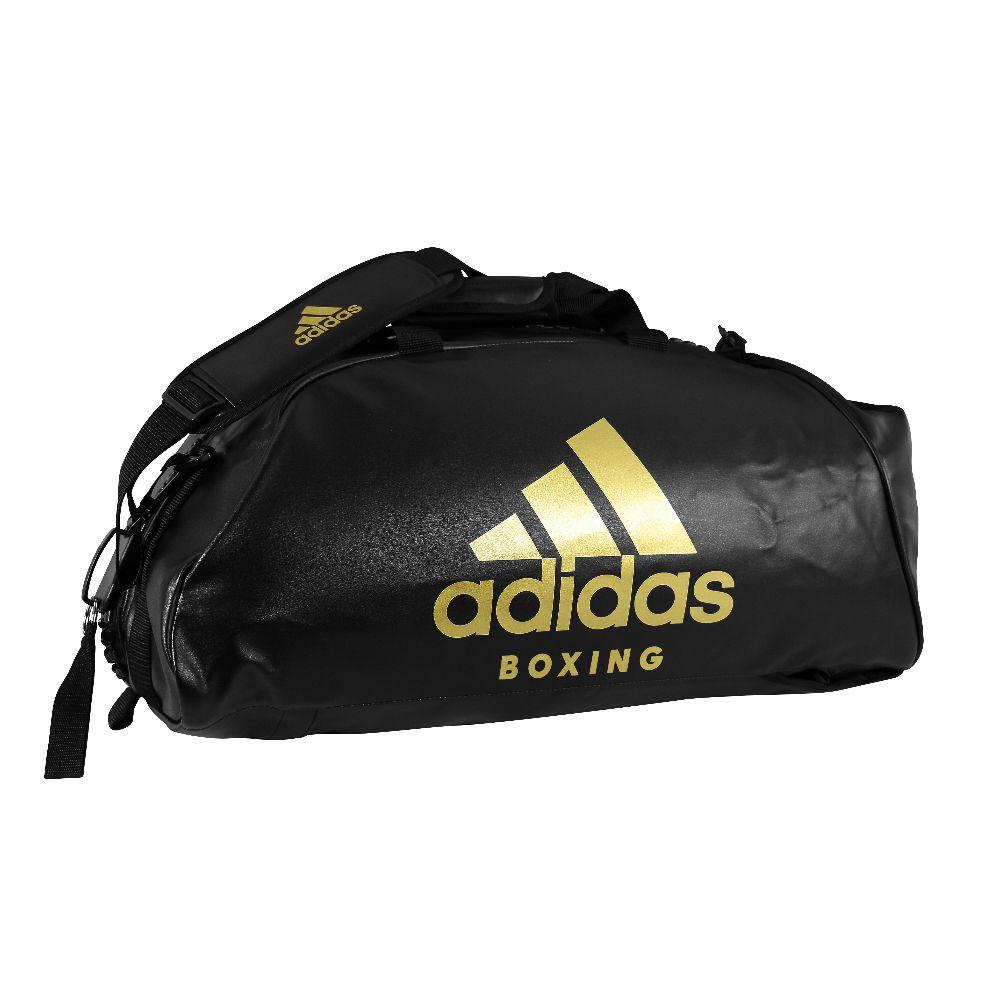 Bolsa Adidas Boxing M 2 em 1 - Preta   Dourado - Titanes Esportes ecb2d87c832