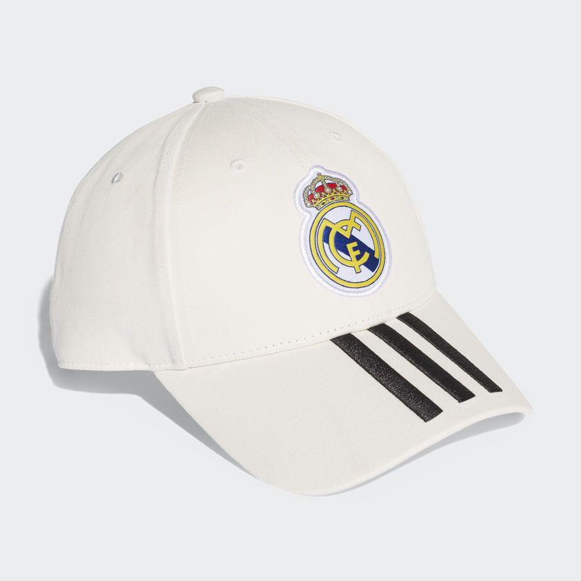 Boné Adidas Real Madrid 3S - Branco