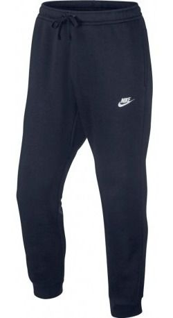Calça Nike Moletom Sportwear Jogger FLC Club - Azul