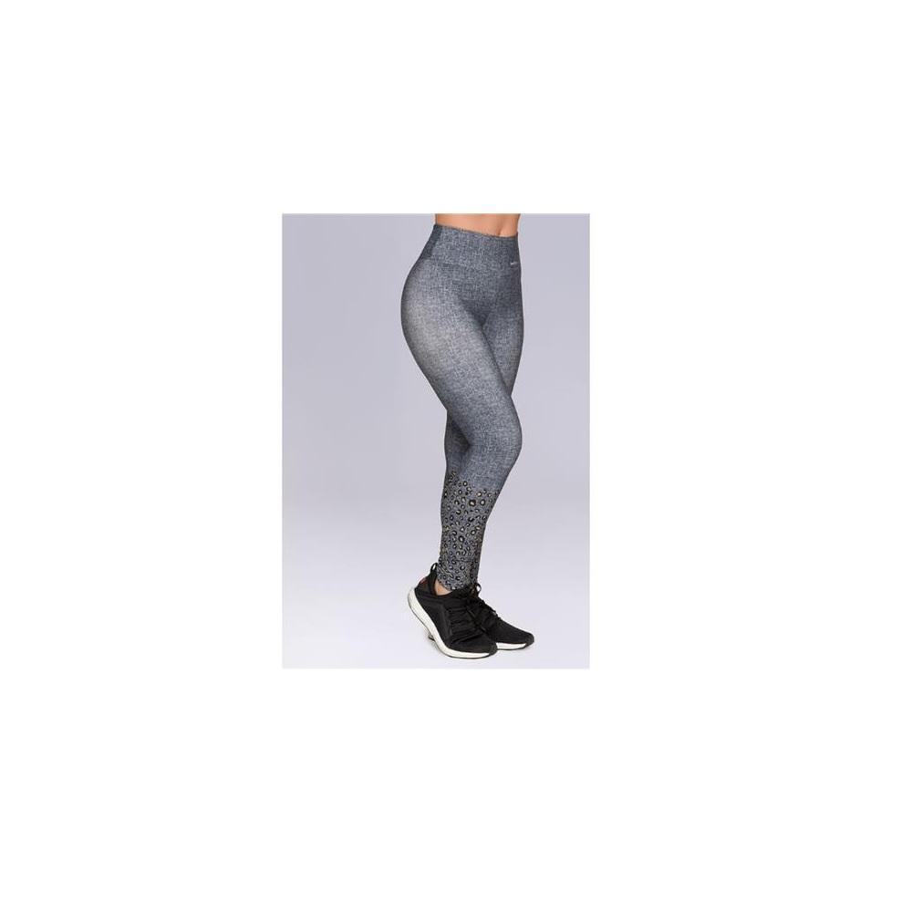 Calça Legging Fitness Oncinha - Selene