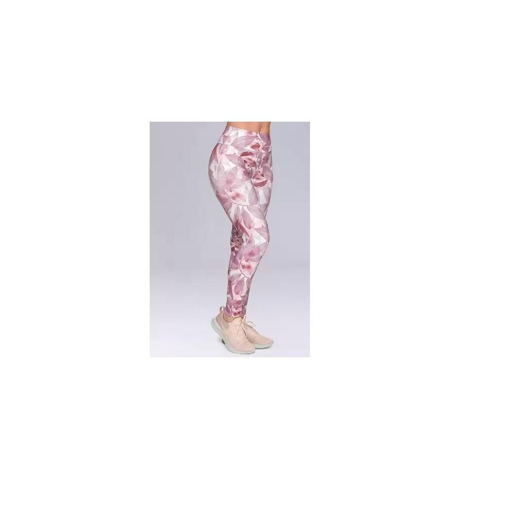 Calça Legging Fitness Rosa - Selene
