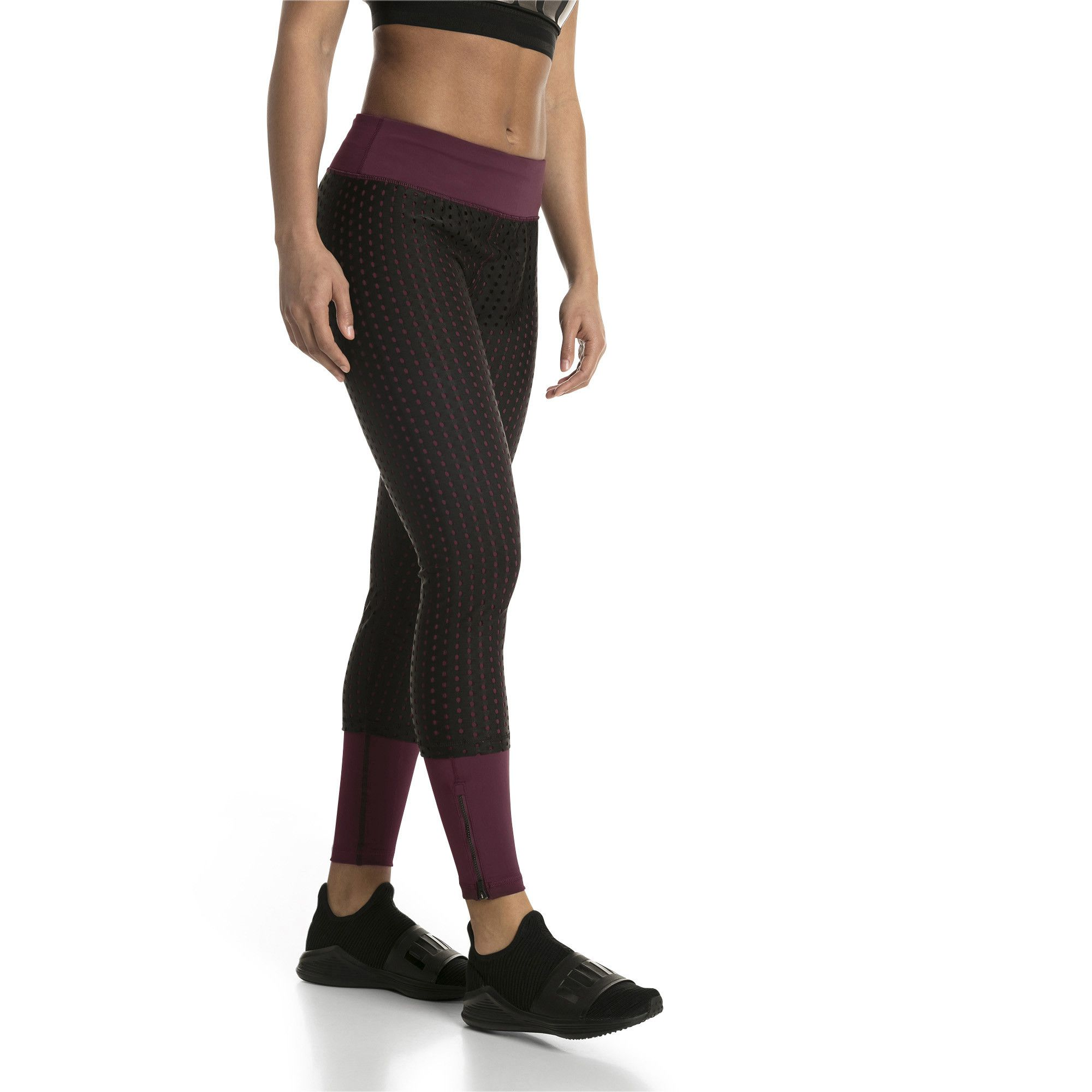 Calça legging Puma luxe mesh tight - Original