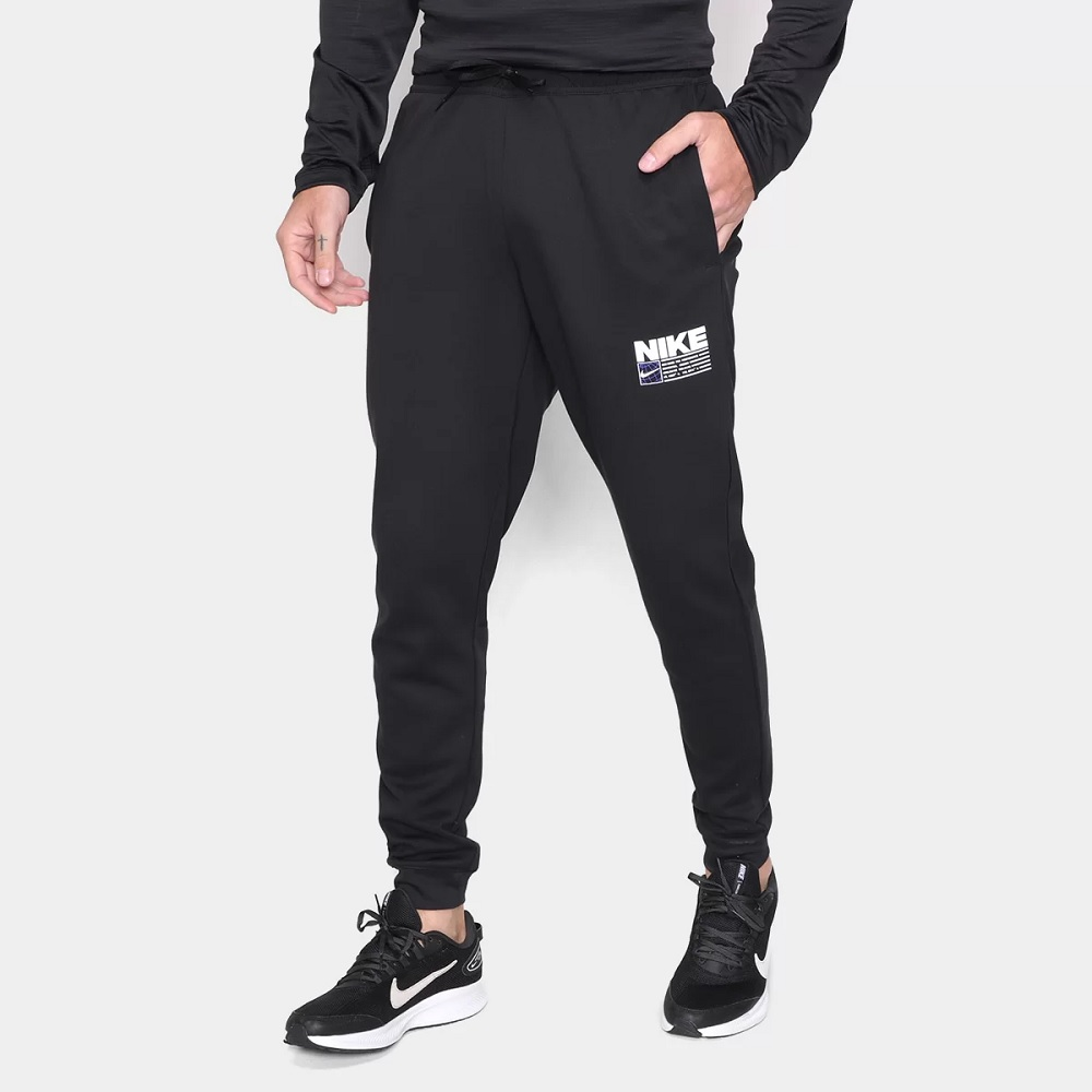 Calça Nike Dri-Fit Taper Pack - Masculina - preto