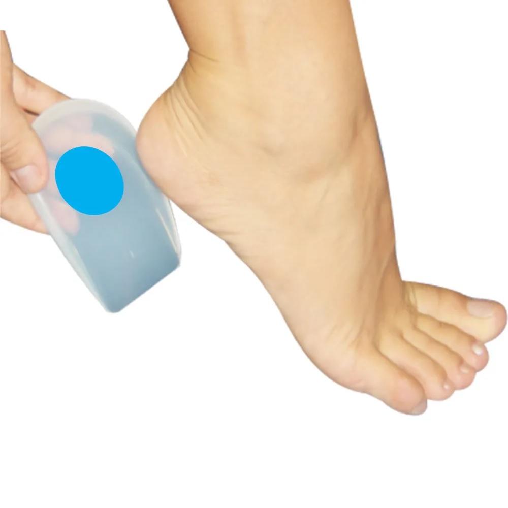 Calcanheira Silicone Siligel c/Ponto Azul - Ortho Pauher