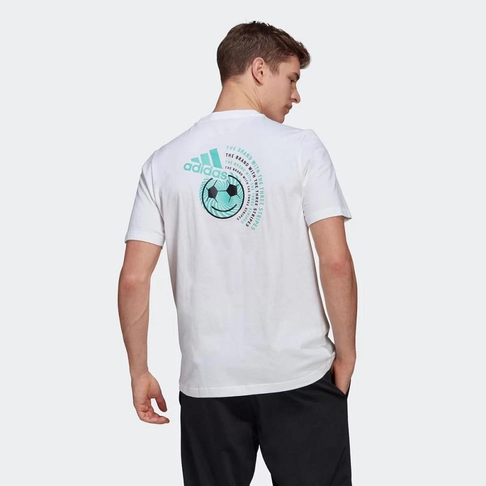 Camisa Adidas clube culture Masculina - Branco