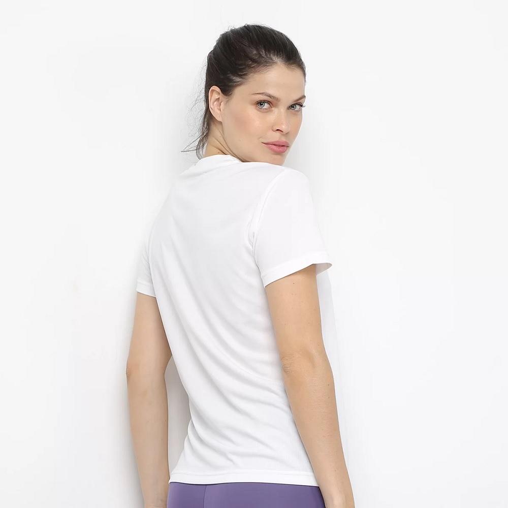 Camisa Adidas D2M Solid t - branca - Feminina