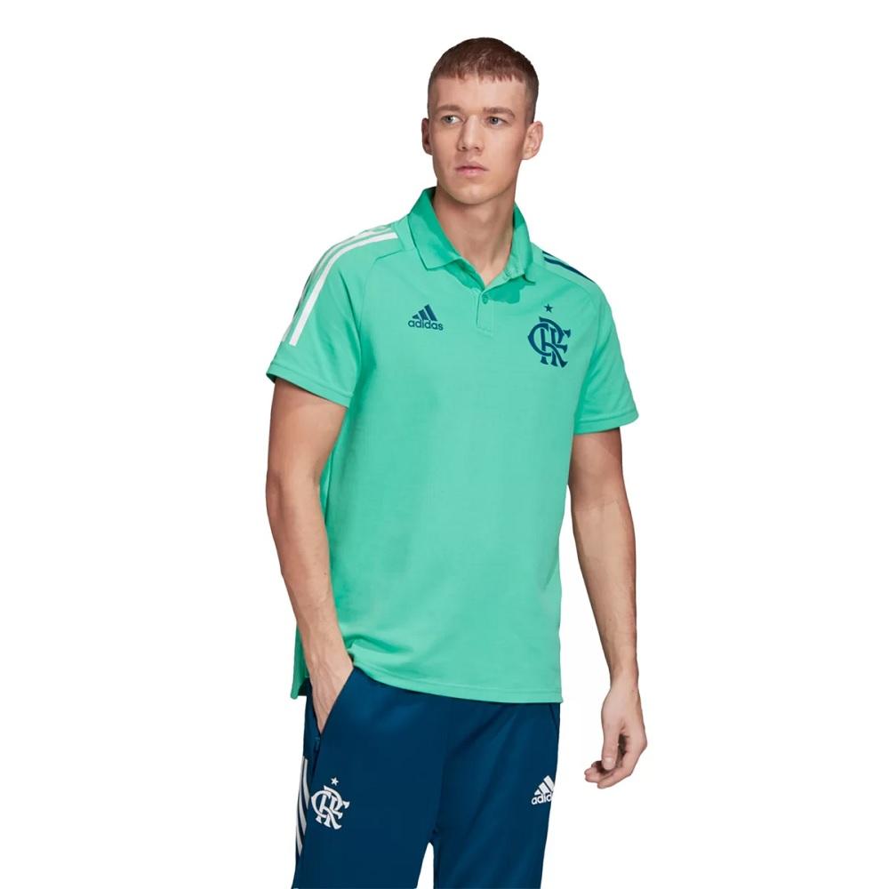 Camisa Adidas Flamengo Polo - Verde