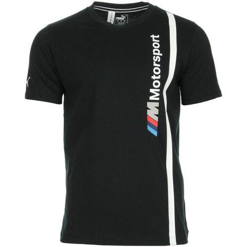 Camisa BMW Motorsport  LOGO TEE - PUMA - Original Preto