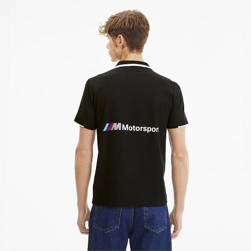 Camisa BMW Motorsport MMS Polo - PUMA - Preto