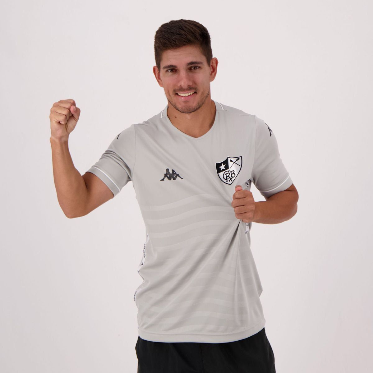 Camiseta Botafogo Away II Goleiro 19/20 Kappa - Cinza