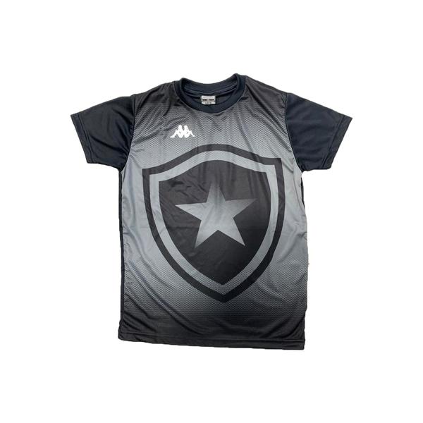 Camisa Botafogo Torcedor Infantil Kappa - Preta
