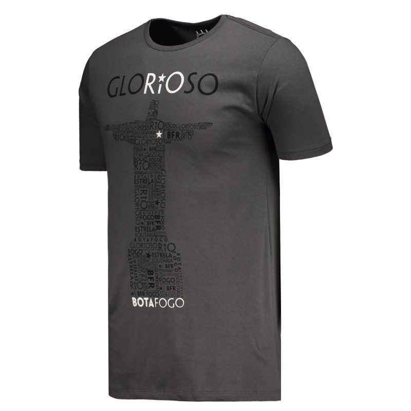 Camisa Braziline Botafogo Glorioso - Cinza