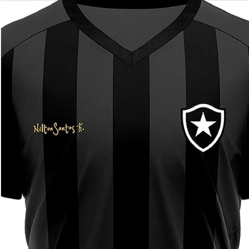 Camisa Braziline Botafogo Lore Masculino - Preto