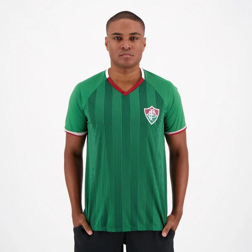 Camisa Braziline Fluminense Care Infantil - Verde