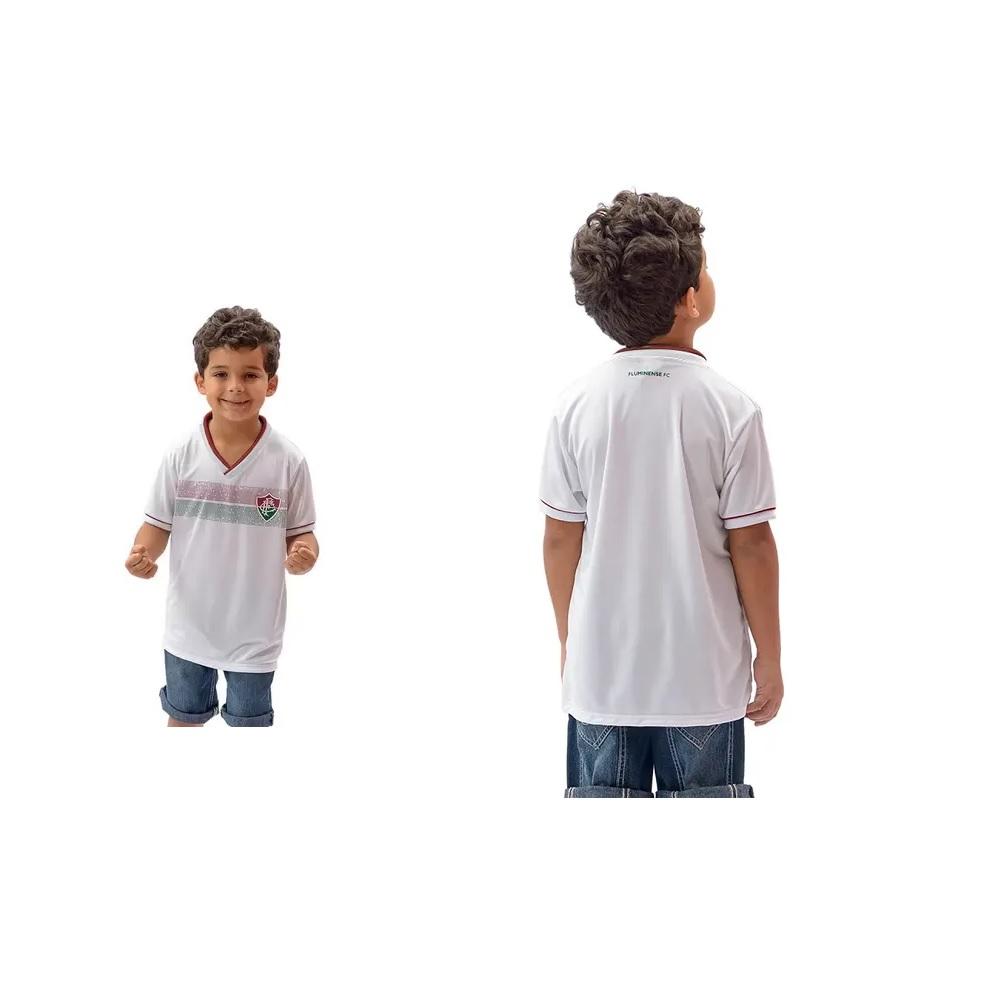 Camisa Braziline Fluminense Evoke Infantil - Branca