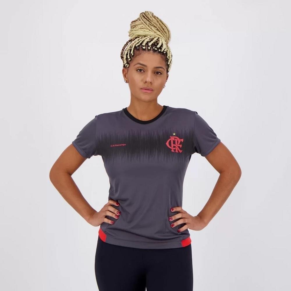 Camisa Braziline Flamengo Contact Feminina