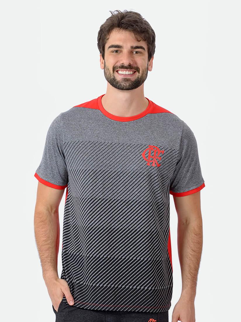 Camisa Braziline Flamengo Cooper - Mesclada