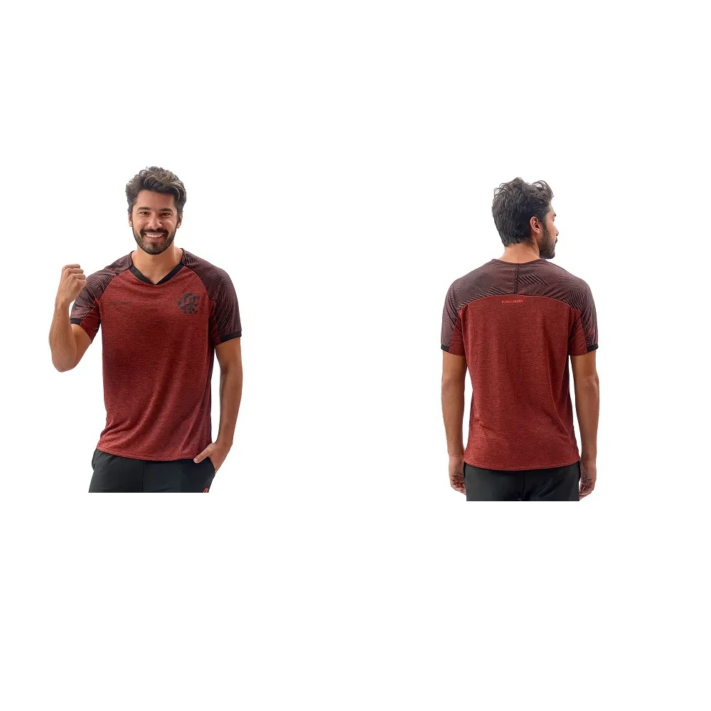 Camisa Braziline Flamengo Gloam Masculina