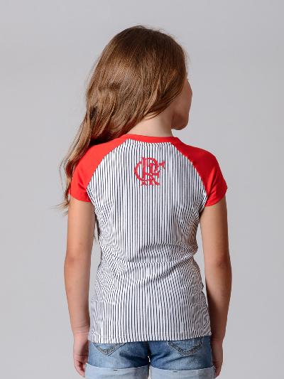 c5906080b1a5d Camisa Braziline Flamengo Infantil Glee - Listrada - Titanes Esportes