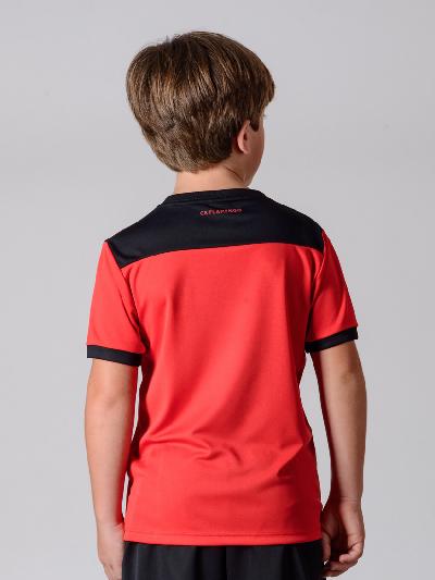 Camisa Braziline Flamengo Infantil Slide - Vermelho