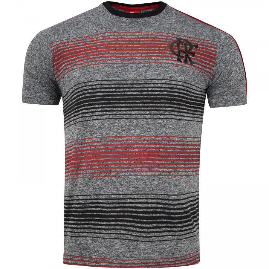 Camisa Braziline Risk Flamengo - Cinza