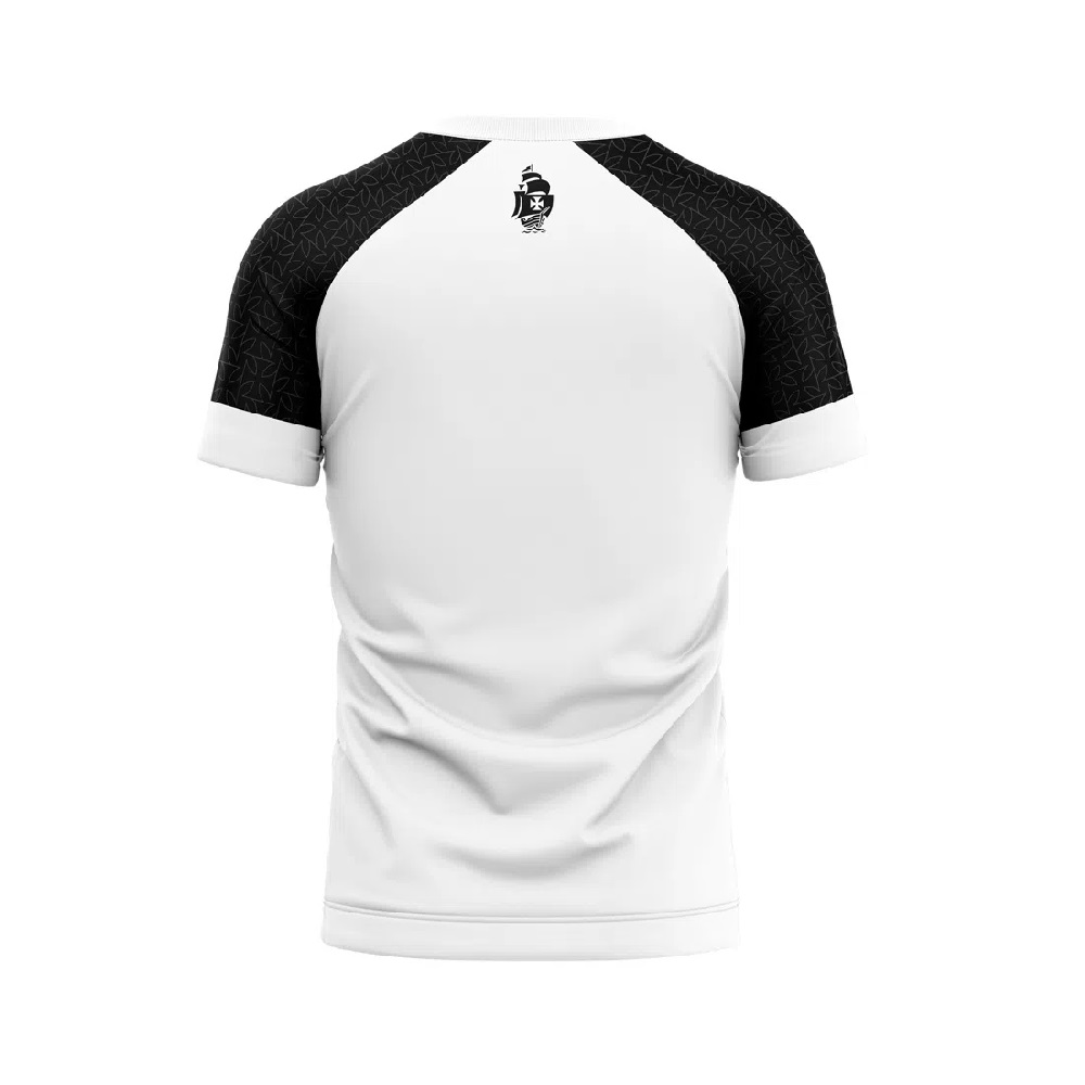 Camisa Braziline Vasco da Gama Cell Infantil - Branca