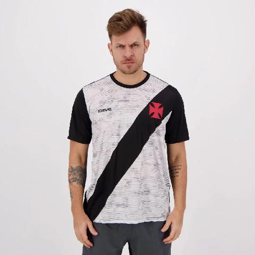 Camisa Braziline VASCO Proud - Masculino - Preto