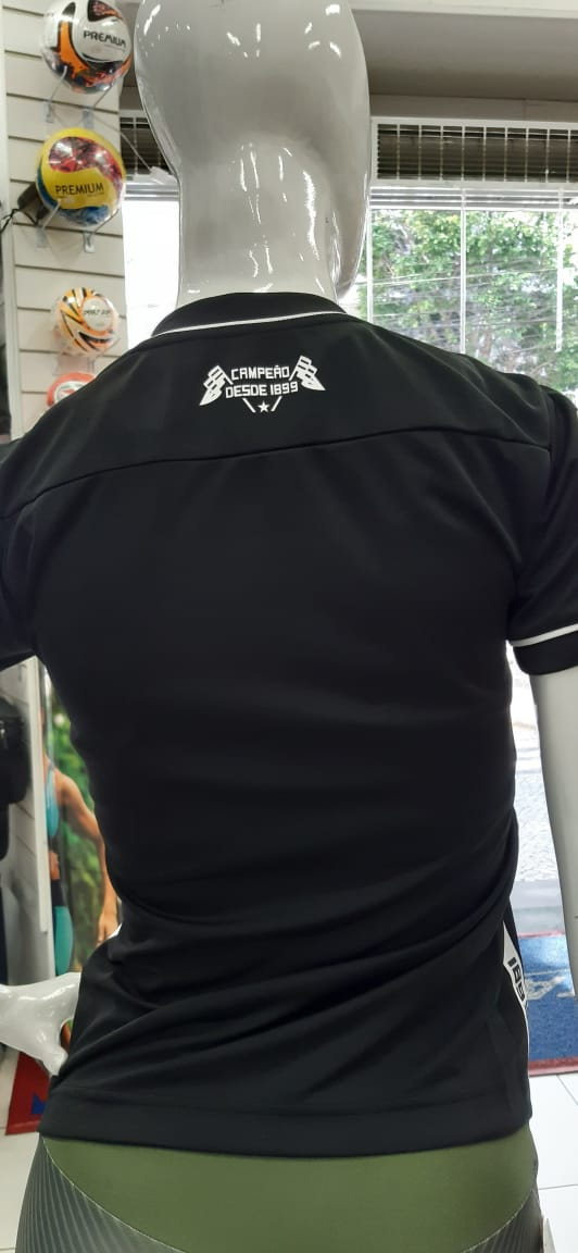 Camisa Botafogo II 2019 Kappa - Feminina Preta