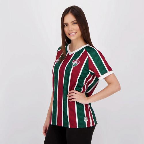 Camisa do Fluminense I 20/21 Umbro - Feminino